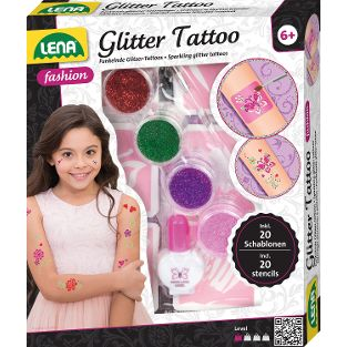 Glitter Tattoo, Faltschachtel