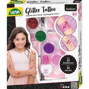 Glitter Tattoo, Faltschachtel