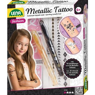 Metallic Tattoo, Faltschachtel