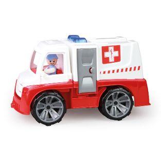 TRUXX Krankenwagen mit Zubehör, Versandkarton