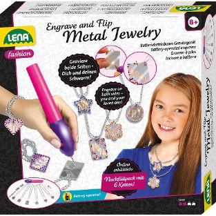 Metal Jewelry in Faltschachtel