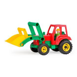 Aktive Traktor mit Frontschaufel, lose