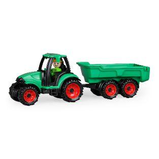 Truckies Traktor mit Anhänger, Schaukarton