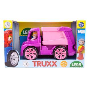 TRUXX Müllwagen rosa, Schaukarton