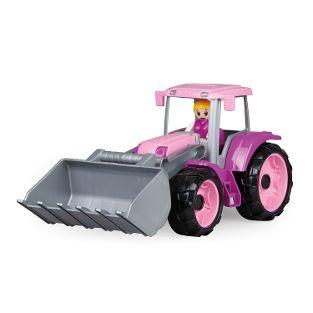 TRUXX Traktor, rosa, Schaukarton