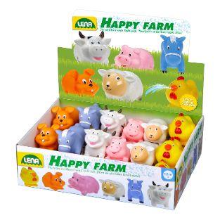 Spritztiere Happy Farm, 6-fach sortiert