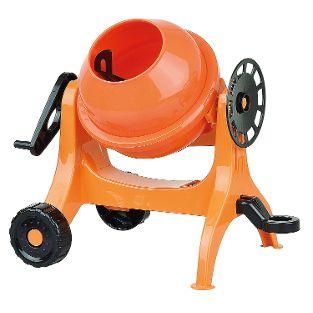 Betonmischer, klein, orange, lose