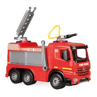 GIGA TRUCKS Aufsitz-Feuerwehr Arocs, Schaukarton