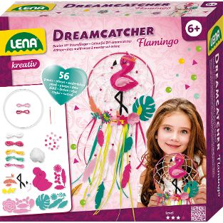 Dreamcatcher Flamingo, Faltschachtel