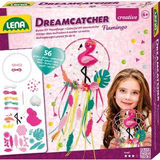 Dreamcatcher Flamingo, Faltschachtel