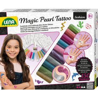 Magic Pearl Tattoo, Faltschachtel