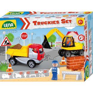 Truckies Set Baustelle, Faltschachtel