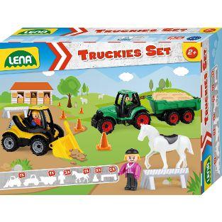 Truckies Set Bauernhof, Faltschachtel