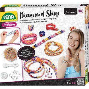Diamond Shop, Faltschachtel