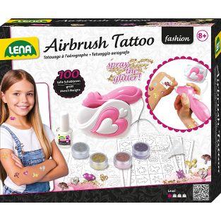 Airbrush Tattoo Studio, Faltschachtel