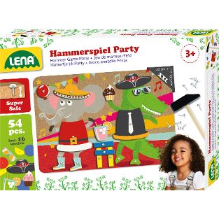 Hammerspiel Party, Faltschachtel