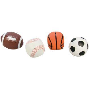Soft-Sportbälle 10 cm, 4er-Set