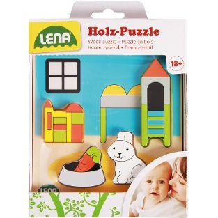 Holzpuzzle Kinderzimmer