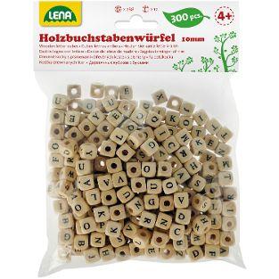 Holz-Buchstabenwürfel, 300-tlg.
