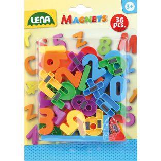 Magnet-Zahlen + Zeichen