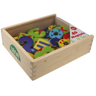 Holz Magnet Zahlen