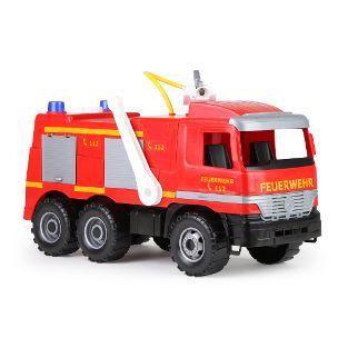 GIGA TRUCKS Feuerwehr mit Aufklebern, Schaukarton
