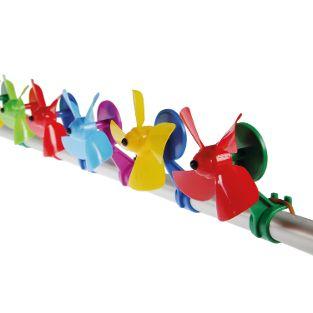 Windspiel-Propeller Trendfarben