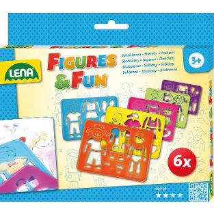 Zeichenschablonen Figures & Fun