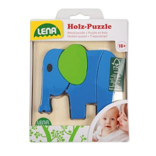 Holzpuzzle Elefant (FSC100%)