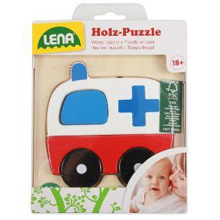 Holzpuzzle Krankenwagen (FSC100%)