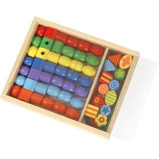 Super Beads Holzfädelperlen (FSC100%)